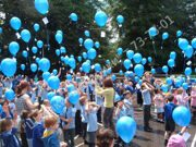 launch-of-balloons-with-helium-at-a-children's-graduation